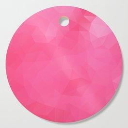 """""""Raspberry jam"""" triangles design Cutting Board"""