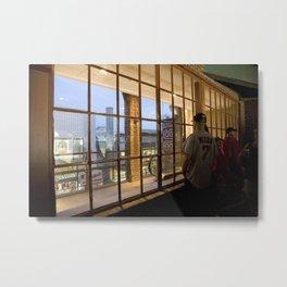 Window- Fenway Metal Print