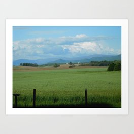 Shenandoah Valley Farm Art Print