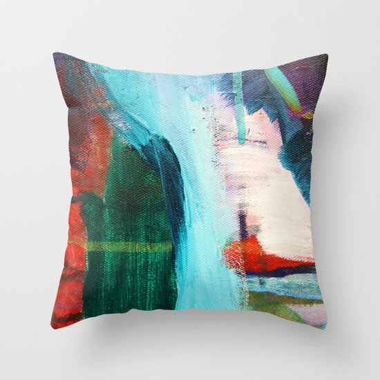 Sustain Throw Pillow