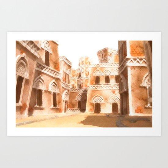 Yemen Art Print