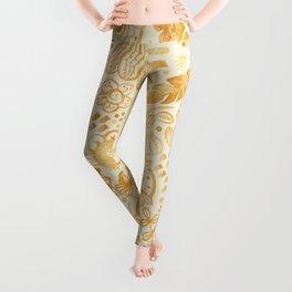 Golden nature Leggings