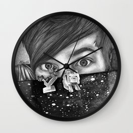 Diamondminecraft  Wall Clock
