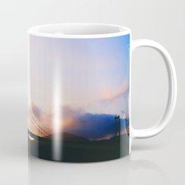 Golden Gate Bridge Sunrise, San Francisco Bay Coffee Mug