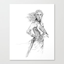 Queen of Terrasen Canvas Print