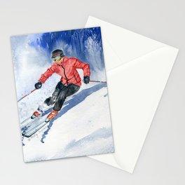 Winter Sport Stationery Cards
