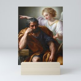 The Dream of St. Joseph by Mengs (1774) Mini Art Print