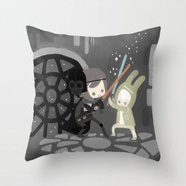 The Empire Throw Pillow