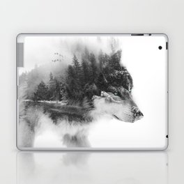 Wolf Stalking Laptop & iPad Skin