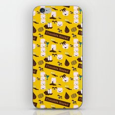 Chocolate Wasted (yellow) iPhone & iPod Skin