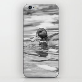 Floating Duck iPhone Skin