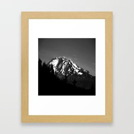 Desolation Mountain Framed Art Print