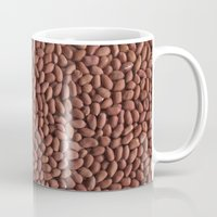 peanuts Mugs featuring Peanuts. Background. by Grigoriy Pil