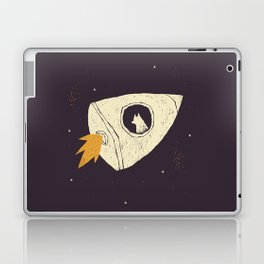 laika(purple) Laptop & iPad Skin