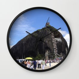 Piedra del Penol Wall Clock