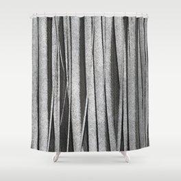 Texture - Grey Version Shower Curtain