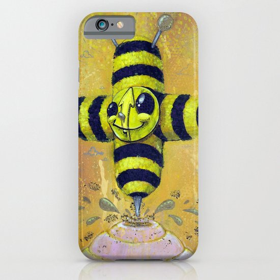 Bee Positive iPhone & iPod Case