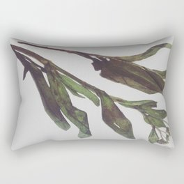 Flowing Lovely Floral Rectangular Pillow