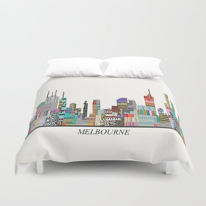 Melbourne Duvet Cover