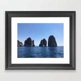 Tunnel of Love, Capri Framed Art Print