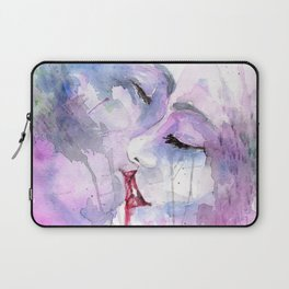"Watercolor Painting of Picture ""Passion"" Laptop Sleeve"