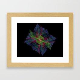 Wispy Cell Framed Art Print