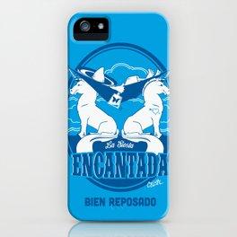 La Siesta Encantada, Bien Reposado • The Best Tequila TShirt! iPhone Case