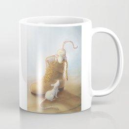 Lace moustache Coffee Mug