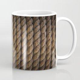 Tight round rope pattern Coffee Mug