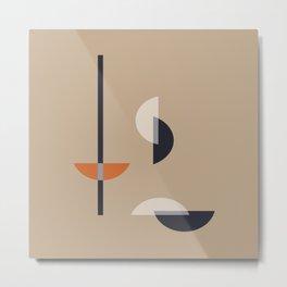 Geometric Abstract #13 Metal Print