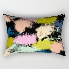 Dabs of paint Rectangular Pillow
