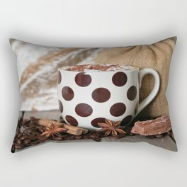 Coffee Time, Any Time Rectangular Pillow