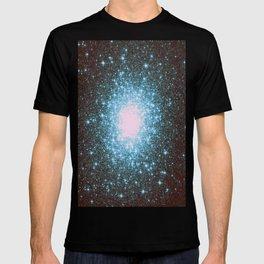 Teal Galaxy Stars T-shirt