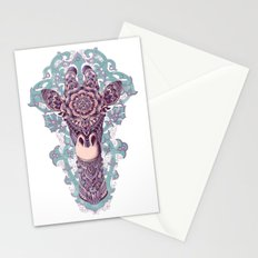 Giraffe (Color Version) Stationery Cards