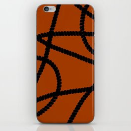 White Ropes iPhone Skin