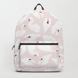 Swan Pattern on Pink 030 Backpack