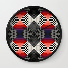 Glitch #1 Wall Clock