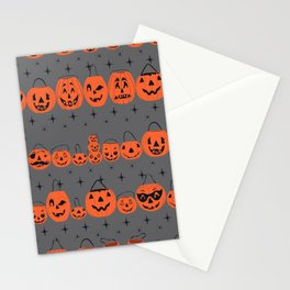 Trick or Treat Smell My Feet- Grey Stationery Cards