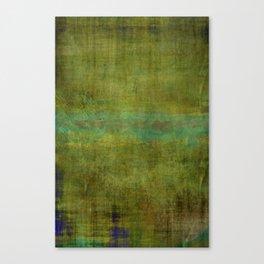Green burrows ~ Abstract Canvas Print