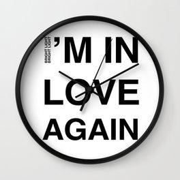 Love Part II 'I'm In Love Again' Wall Clock