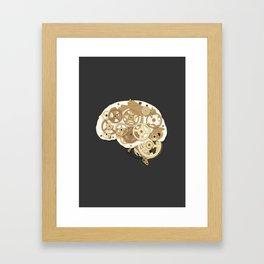 mental machine Framed Art Print