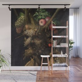 Giuseppe Arcimboldo - Four Season's in One Head Wall Mural