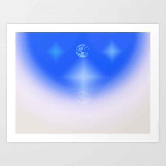 Celestial Harmony Art Print