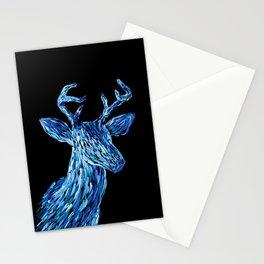 Аmazing deer head Stationery Cards