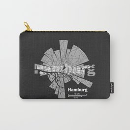 Hamburg Map Carry-All Pouch