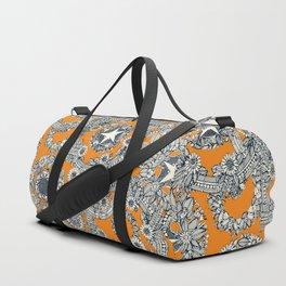 cirque fleur papaya Duffle Bag