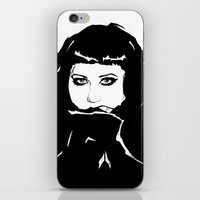 beth hoeckel iPhone & iPod Skins featuring Beth Ditto by Giorgia Ruggeri