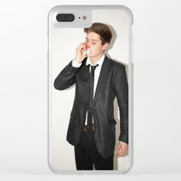 Well, it Was a bad Idea Clear iPhone Case