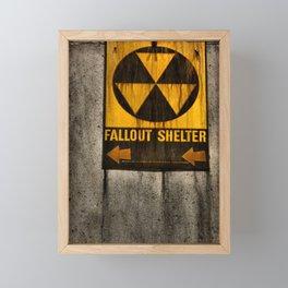Fallout Shelter Framed Mini Art Print