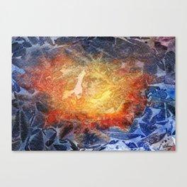 Visages Canvas Print